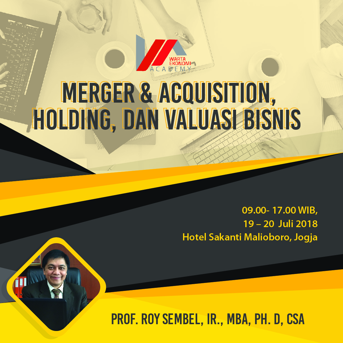 Merger & Acquisition, Holding, dan Valuasi Bisnis