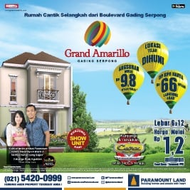 Grand Amarillo Gading Serpong