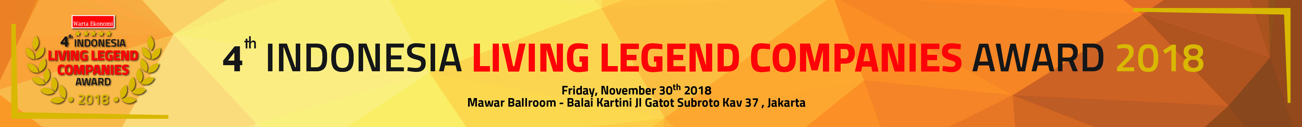 Indonesia Living Legend Companies Award 2018