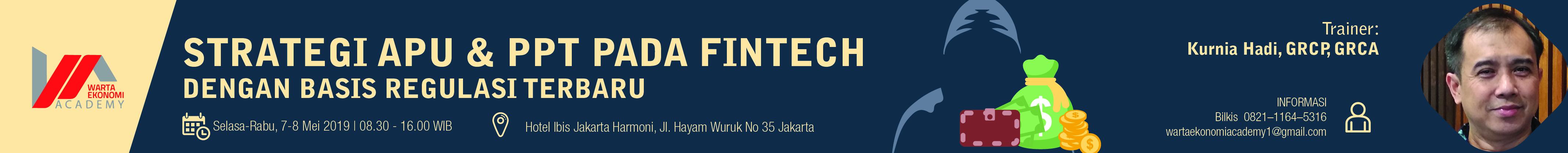 Strategi APU dan PPT pada Fintech