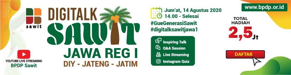 Digitalk Sawit Jawa Reg I
